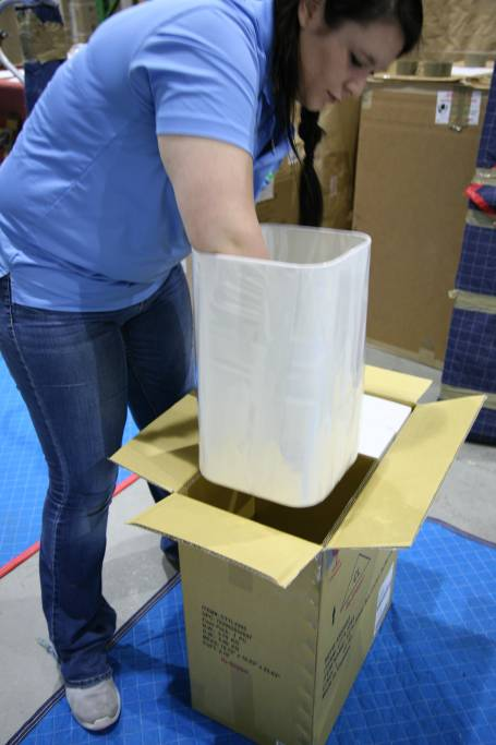 Designer Receiving company, Naples Florida, Delivery and packing
